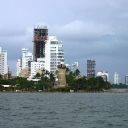 The Approach to Cartagena, Colombia