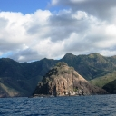 The Approach to Nuku Hiva