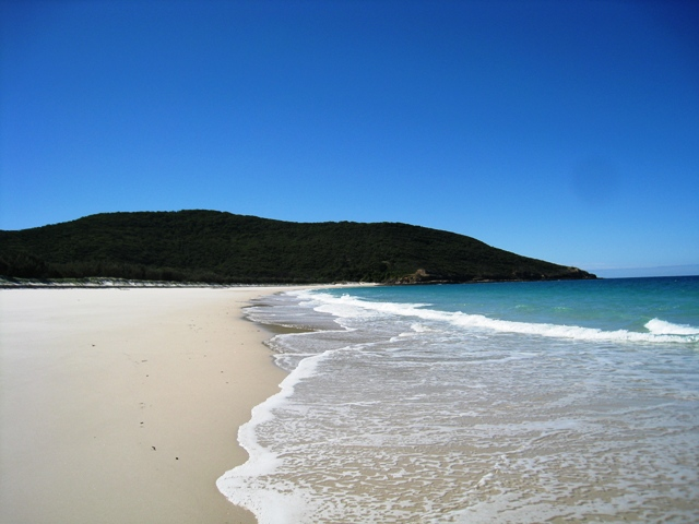 One of the many gorgeous and secluded beaches on Great Keppel Island.