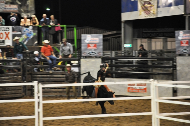 The rodeo kids were hysterically cute.  I loved this guy going for the style points!