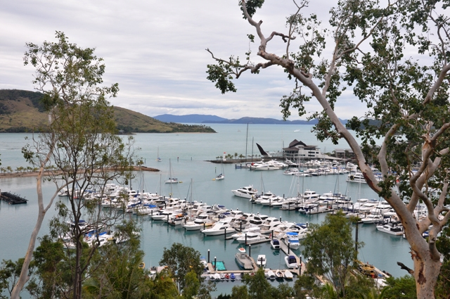 Spectacle at the Hamilton Island Marina